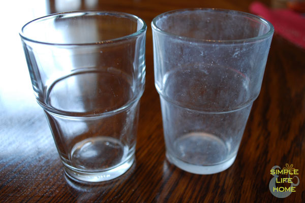 How To Remove Hard Water Stains From Drinking Glasses